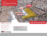 3.75 Acres of Commercial Land For Sale