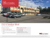 6 Office or Retail Condos For Sale Close to Mall and Hospital
