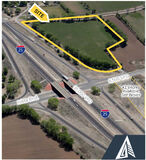 8.54 Acres on Isleta Blvd with I-25 Frontage @ Exit 213