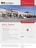 Office/Retail For Lease with Great Visibility