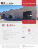 12,00 SF Office Warehouse For Lease
