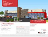 Retail Space For Lease in Prime Retail Location