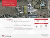 Commercial Land For Sale w/Excellent Visibility