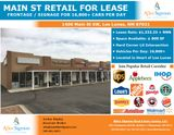Main St Retail for Lease